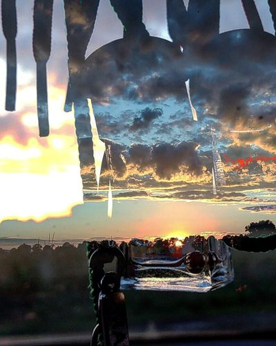 Illuminated Cloud - Sky Outdoors Dramatic Sky Sky Vacations Römersiedlung Effect Zte Axon Elite