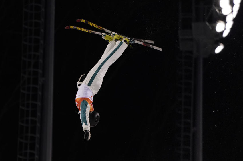Laura Peel of Australia, participated in Aerial Freestyle Skiing in the Pyeongchang2018 Winter Olympic Games Australia Australian Freestyle Skiing Olympic Olympics Phoenix Park Skiing Winter Winter Sport Aerial Freestyle Freestyle Skier Laura Peel Laurapeel Night Olympic Games Olympicgames Phoenix Snow Park Pyeongchang Olympic Games Pyeongchang2018 Skiacrobatique Skier Sport Vault On The Snow Winter Sports
