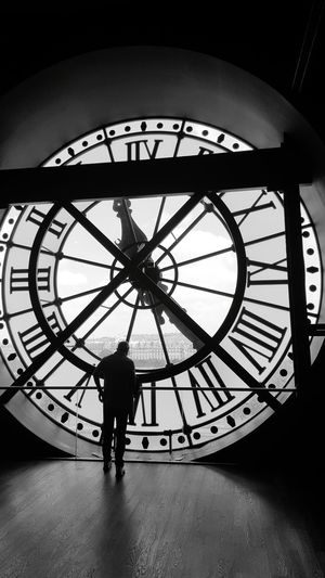 The great clock at Orsay museum Paris Orsay Orsay Museum Musée D'Orsay Clock Architecture The Architect - 2016 EyeEm Awards Man History Art Museum View From Inside