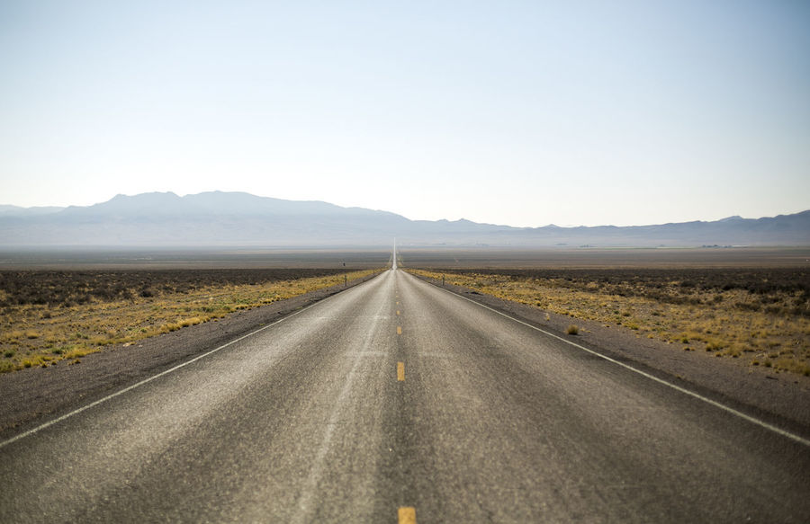 Arid Climate Clear Sky Day Desert Landscape Nature No People Outdoors Road Scenics Sky Sparse The Way Forward