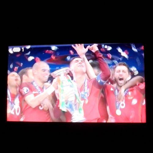 CAMPEÕES DA EUROPA!!!!! Uefaeuro2016 ForçaPortugal
