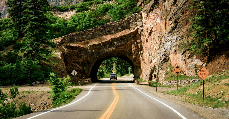 Arch Arched Architecture Bridge Bridge - Man Made Structure Built Structure Connection Country Road Day Diminishing Perspective Empty Road Leading Long Outdoors Passing Road Road Marking Solitude The Way Forward Transportation Tree Tunnel