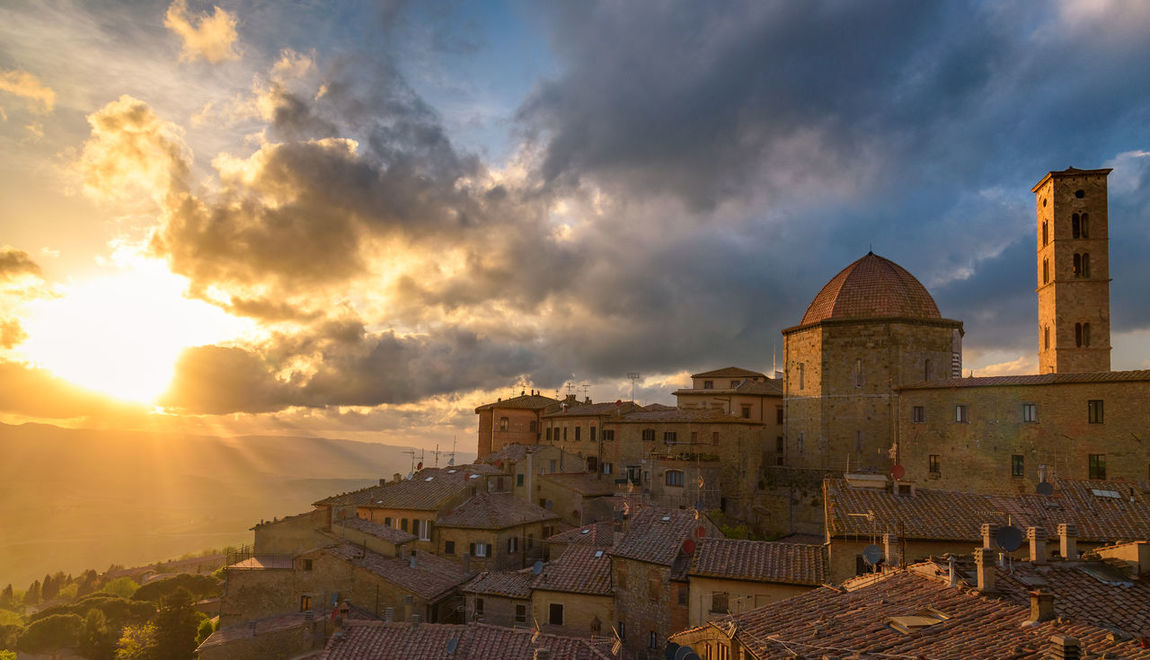Architecture Building Building Exterior Clouds Italy Landscape Panoroma Scenic Landscapes Sun Sunset Travel Travel Destinations Travel Photography Traveling Tuscany Tuscany Countryside View The Architect - 2017 EyeEm Awards