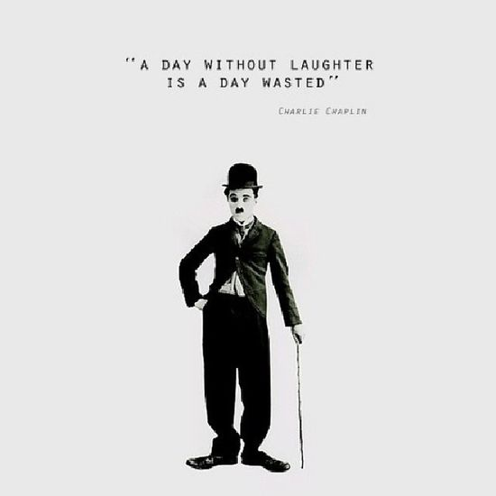 Smile more Charliechaplin Black And White Life Quotes Just Smile