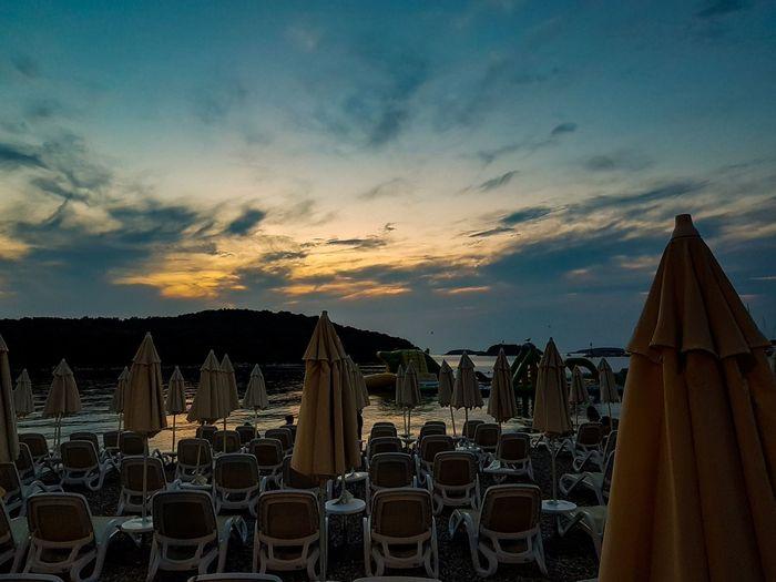 Sunset Vrsar Croatia Hrvatska Kroatien Sunset Spirituality Business Finance And Industry Arrangement Sky Cloud - Sky Postcard
