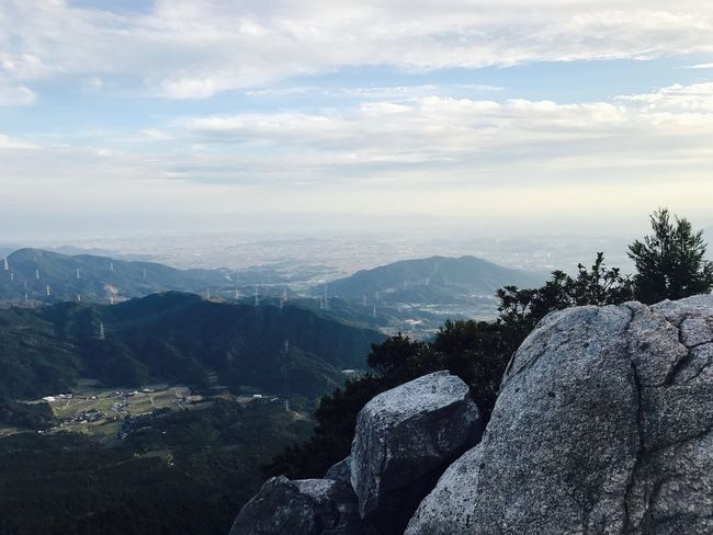 Mountain Summit Sky Mountain Beauty In Nature Nature Cloud - Sky Scenics Landscape Tree Mountain Range
