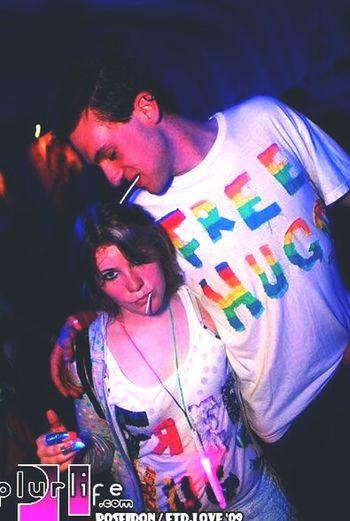 Free hugs rule Handsome Selfie ✌ Rave Partying Till Sunrise Edt