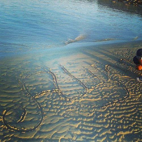 My_name On The Sand sea ras_sedr