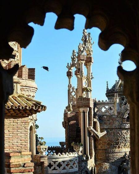 castillo de colomares Fairytale  Castle Columbus Benalmádena CostadelSol Family