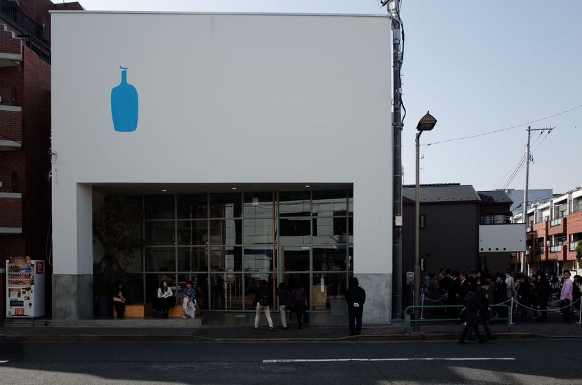 blue bottle coffee. kiyosumi