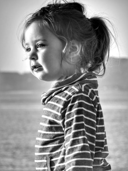 Almost three years... Child Girls Portrait One Person Beauty Vão Lovethedayswithmytwoloves Capture The Moment Pekeña Fierecilla Black & White B&w Childhood Babygirl Lia Three Years Old