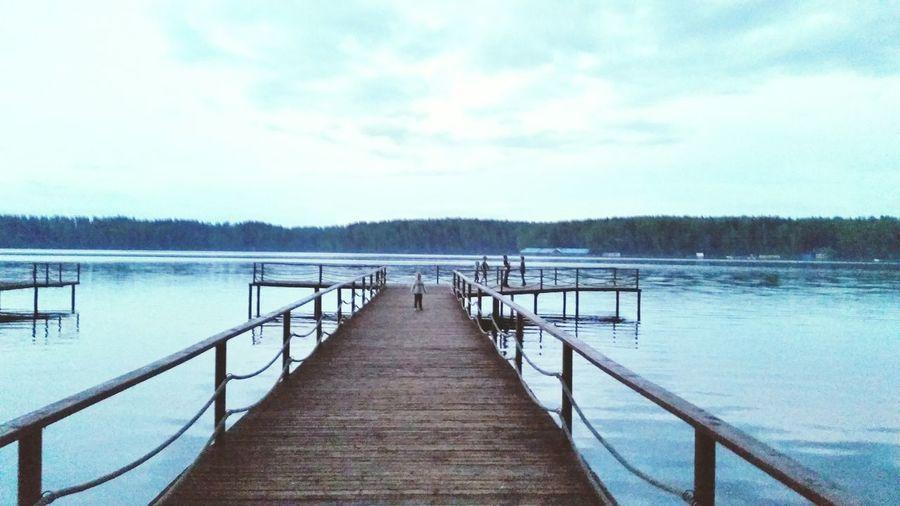 Pier Lake Water