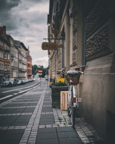 Architecture Building Exterior Built Structure Street City Outdoors Transportation Sky Bicycle Day No People EyeEm Selects EyeEm Best Edits EyeEm Gallery The Week On Eyem Poznań Poland Summer City