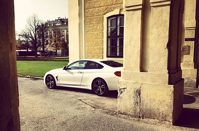 13.Bezirk Castle Home Bmw Bmwnation Justchillin Vienna Austria Atmyparents Instabeauty Instafashion Instadaily Instahun Happygirl Instamoment BMWrepost White Park Autumnweather Leaflesstree Dramatic Fotography Foto