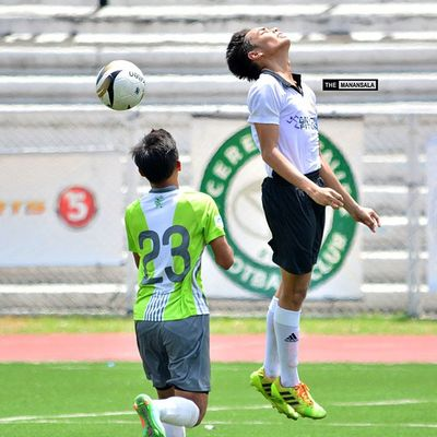 Ecstatic! ⚽ . . . Sbspotlight Soccerbible U17B UFL unitedfootballleague greenarchersunited greenarchersunitedfc pachangadilimanfc football themanansala