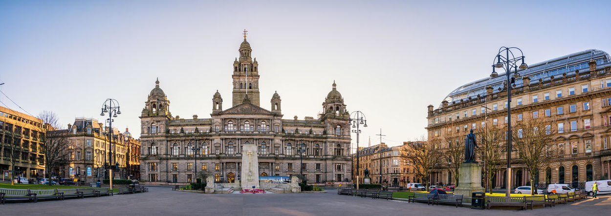 George Square Architecture Building Exterior Built Structure City Chambers Culture Façade Famous Place George Square Glasgow  Gpo History Post Office