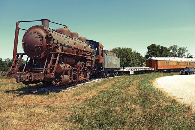 Nebraska Locomotive Train Railroad Engine Fujifilm Fujifilm_xseries FujiX100T Rest In Rust All Day  Explore Wanderlust Nebraska