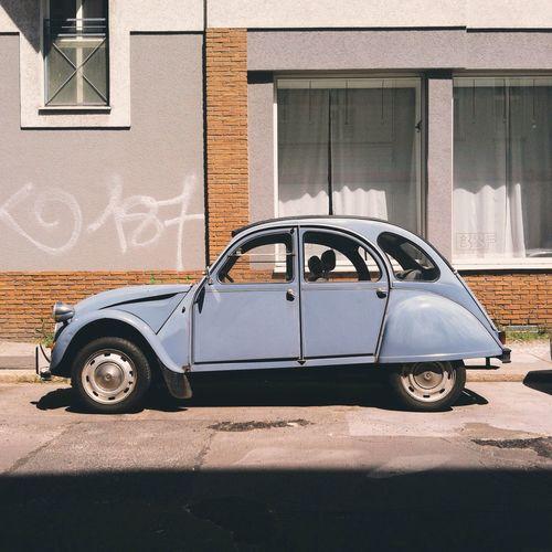 Vintage Ride Vintage Cars 2cv