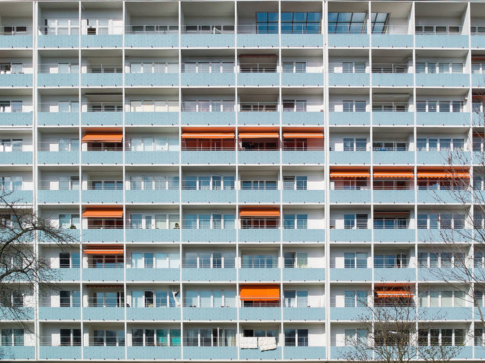 Apartment Architecture Balcony City Facades Geometry House No People Window