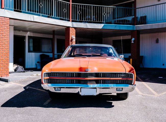 EyeEm Best Shots EyeEm Gallery Film Ford Ford Mustang WeekOnEyeEm Architecture Building Exterior Built Structure Car Cruisen Cruising Day Fordmustang Hipster Land Vehicle Mode Of Transport No People Oldtimer Oldtimerautos Oldtimers Outdoors Road Roadtrip Series Transportation