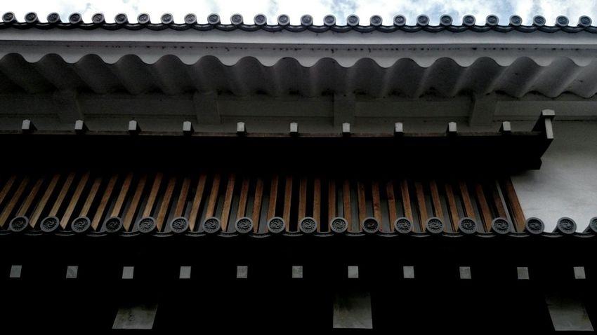 駿府城公園 東御門櫓門 Architecture Japanese Architecture Geometric Shapes Geometry Lines Getting Inspired From My Point Of View at Shizuoka-shi, Japan.
