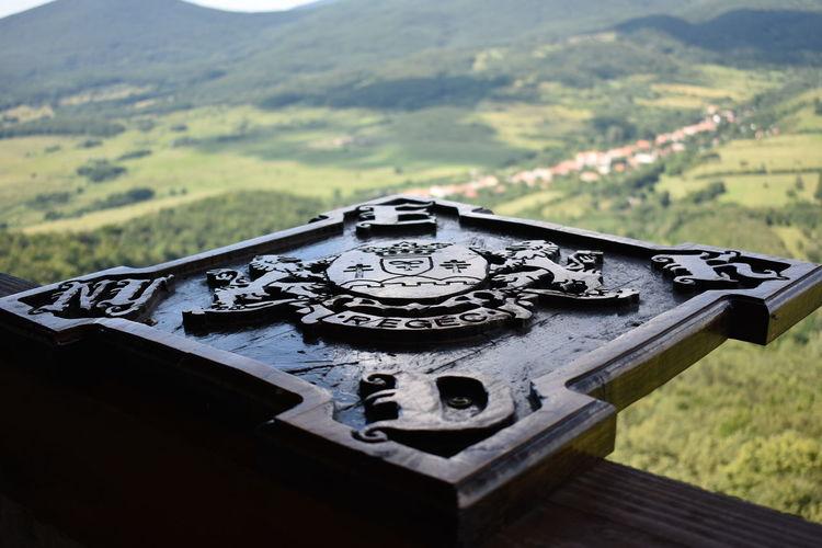 Castle Of Regéc Regéci Vár Compass Mountain Military Close-up Grass Landscape
