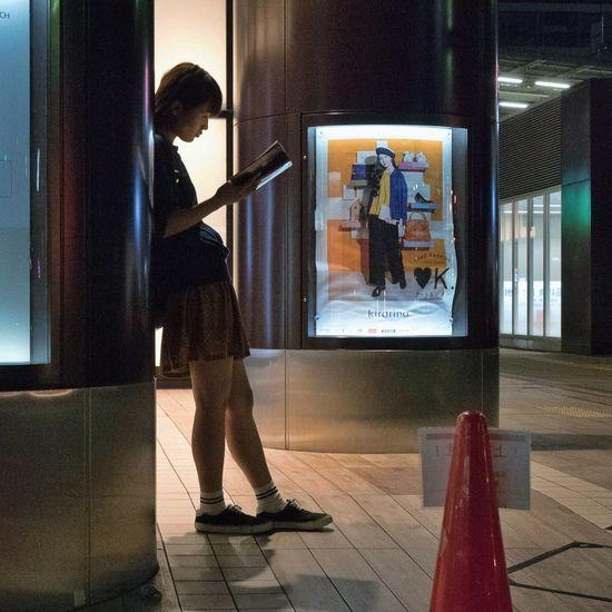 People Snapshot Urban Streetphotography Alone Night Nightphotography Kichijoji , Tokyo Learn & Shoot: After Dark