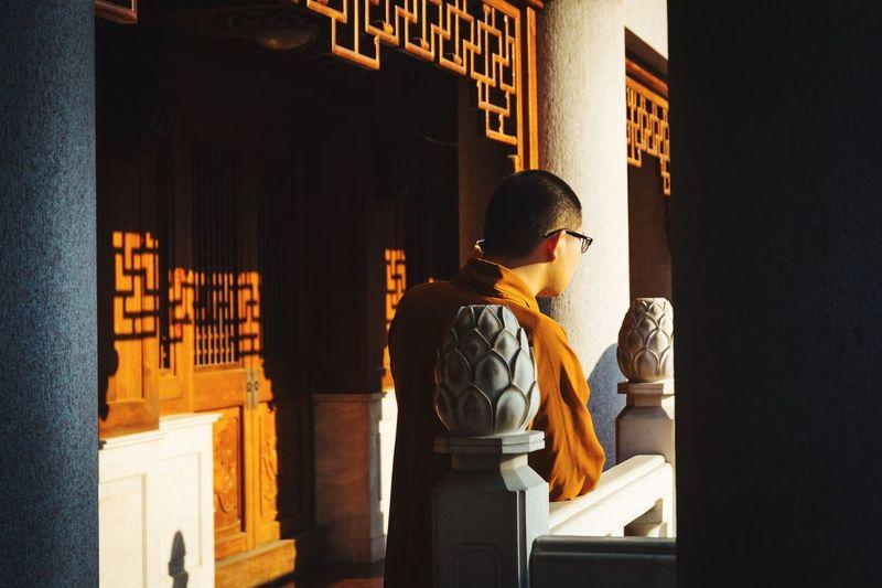 The Street Photographer - 2017 EyeEm Awards Shanghai China Spirituality Religion Place Of Worship Buddhism Monk  Real People Temple
