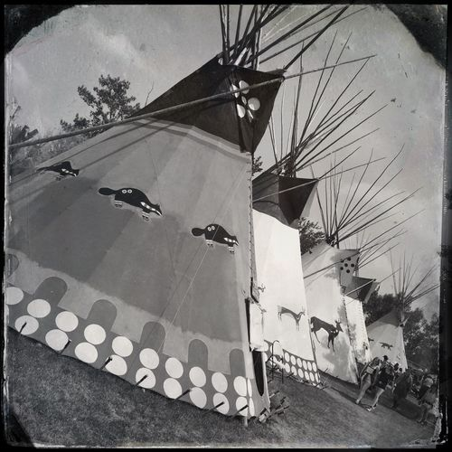 Teepee' at the Calgary Stampede. Iphone 5 Photo Of The Day Photography Project 365 Hipstamatic Calgary Stampede