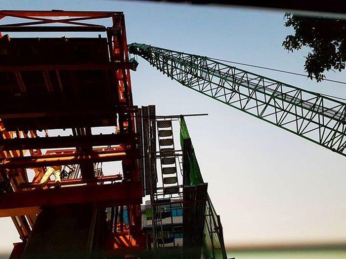 Tamwe Junction Overpass Project Igersmyanmar Tamwe Tamwejunction Instagood Mobilephotography Mobilephoto GalaxyS7Edge Yourworldgallery Choose2create Vacationinstyle Instaclickoftheweek Instaclickoftheday Construction Bridgeconstruction Overpassconstruction AOV Artofvisuals Myanmar Burma Yangon Rangoon