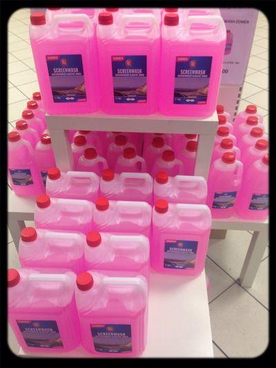 Pink Drinks Car Hello World