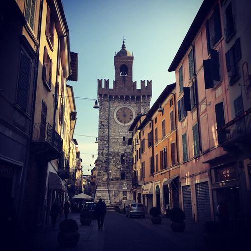 Torre Della Pallata Brescia Built Structure Architecture Sky City Outdoors Clock Like A Tourist In My Town