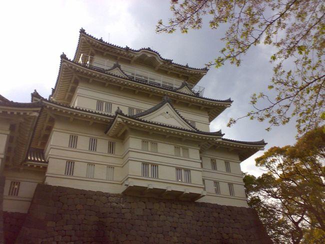 Japanese Castle Castle Architecture Cityscapes at Odawara Odawara Castle / Japan
