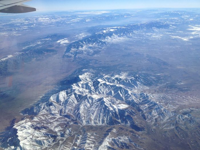 The Rockies make the Alps look like hills From An Airplane Window The Purist (no Edit, No Filter) Are We There Yet?