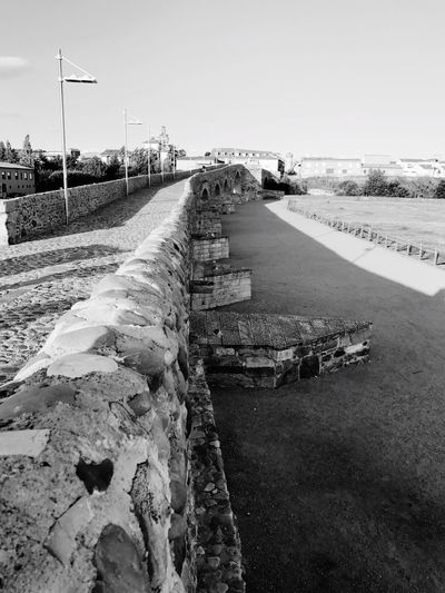 Blackandwhite España Photography Photooftheday España🇪🇸 Water Sky Nature Architecture Transportation No People History Outdoors Day Built Structure Road Old The Past Environment Bridge Bridge - Man Made Structure Stone Wall Direction