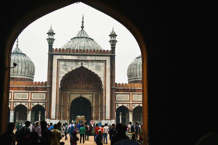 Jamia masjid Delhi india