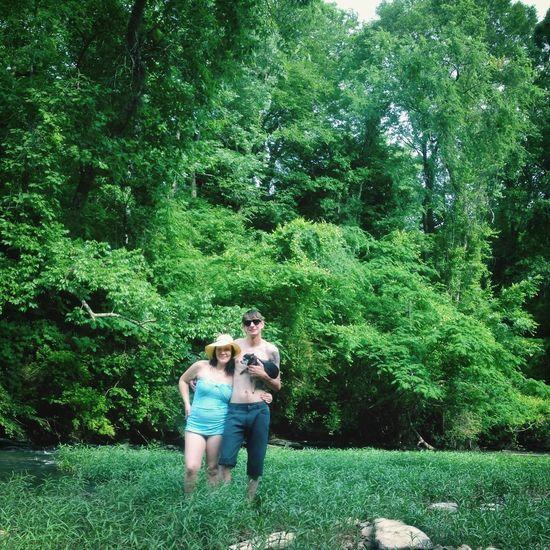 Matt, Sarah & Louie. Summer 2014