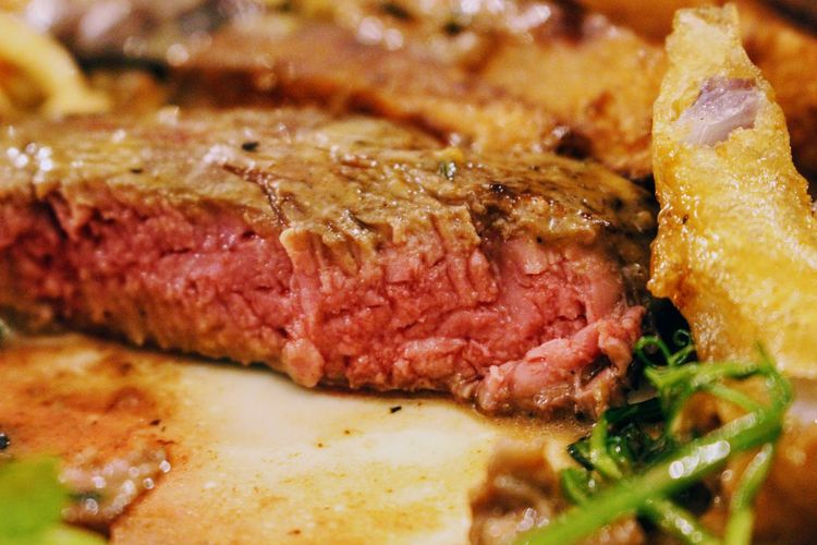 Beef Close-up Day Food Food And Drink Freshness Indoors  Meat No People Plate Ready-to-eat Selective Focus
