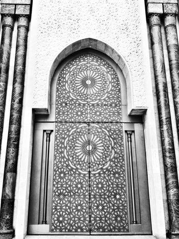 Casablanca, Mosquée Hassan 2 Taking Photos Architecture Monochrome Blackandwhite