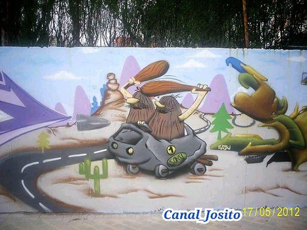 Serie 5/6. Graffity Fuenlabrada Madrid Españoles Y Sus Fotos