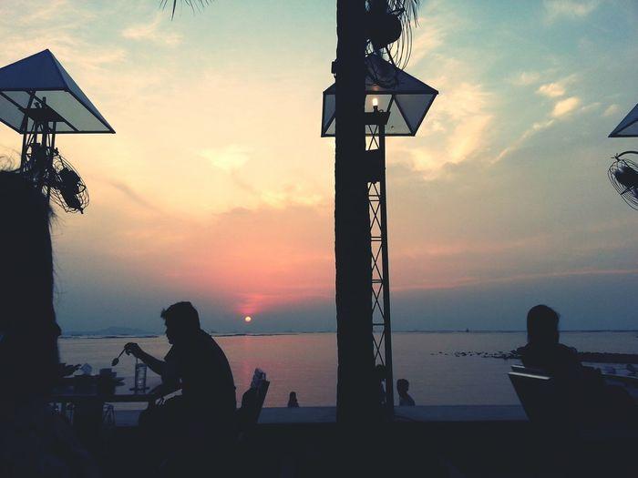 Twilight Sky Seaside