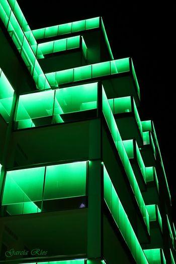 Manu García España🇪🇸 SPAIN Green Color Verde Manu Edificios Building