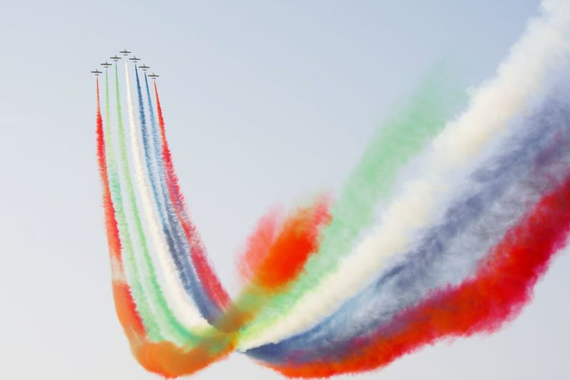 Red Bull Air Show Colors Aircraft Plane
