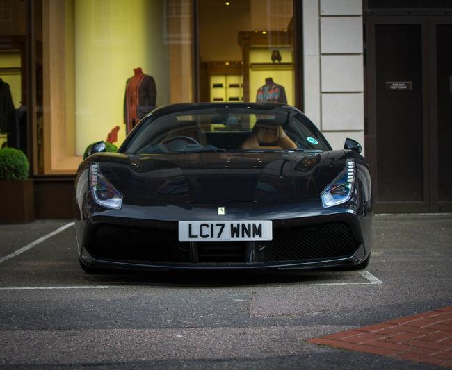Ferrari 488gtb Cool London Car CoolHorsePower ✔ Purespeed The Week On EyeEm London City Beautiful Supercar Sport Your Ticket To Europe Racecar Fast Cars Speed Exotic Car  Outdoors Fastcar 2017