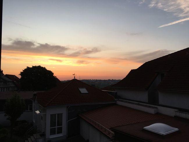 Einfach So :) Alltag Nature Stadt Sonnenaufgang Sky Guten Morgen