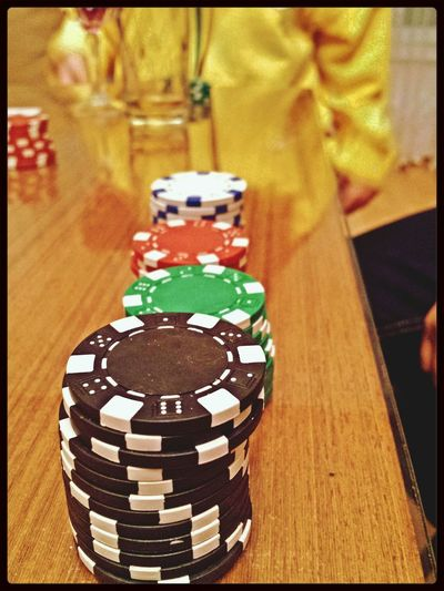 Poker time :) Poker Close Up Chips Game