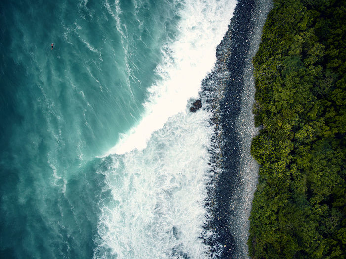 Beach Coastline Waves Surf Ocean Nature Caribbean Drone  Top Down View Abstract Fine Art Photography Print Blue Tropical Paradise Water Sea Beauty In Nature Day Coast Islands Sand Aerial View Turquoise Colors Tropical Climate Destination Tranquility