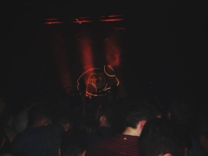 Dancing Gig Concert Moderat Lightshow