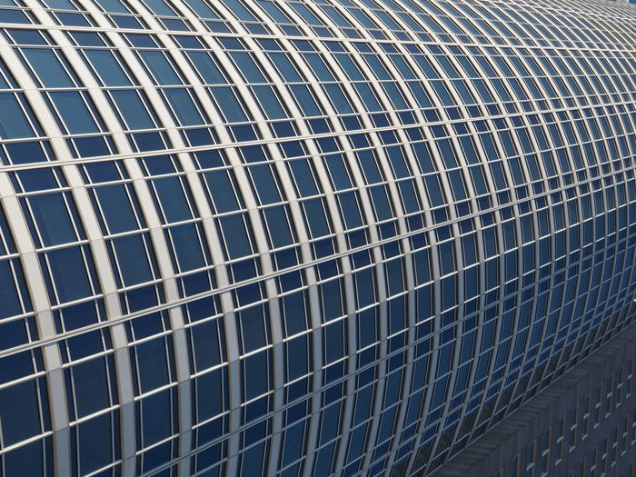 Architecture Architecture Backgrounds Building Exterior Built Structure Close-up Day Full Frame Indoors  Low Angle View No People Pattern Repeating Patterns Repetition Tubular Windows