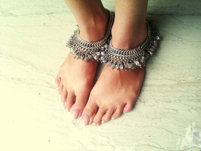 Anklets Rural Antique Jewelery Silver  Silver Jewelery Ornament Oxidised Old Hierloom Old Is Gold Fashion Himalayan Himachal Culture Samsung S5 Phone Camera That's Me My Favorite Photo